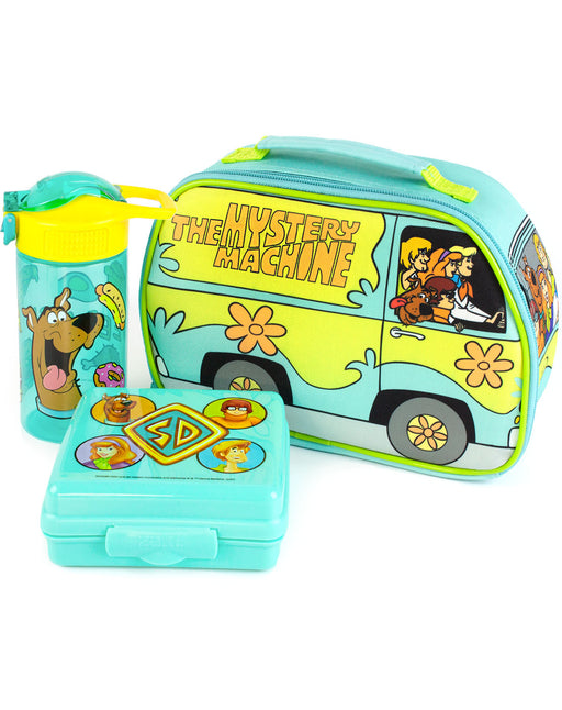 Scooby-Doo Lunchbox Mystery Machine Lunch Bag, Bottle and Snack Pot Set