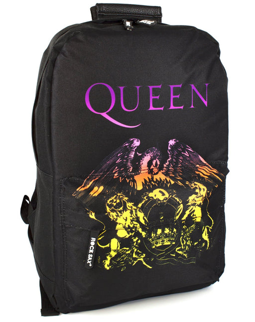 Rock Sax Queen Rucksack Bohemian Crest Black Backpack