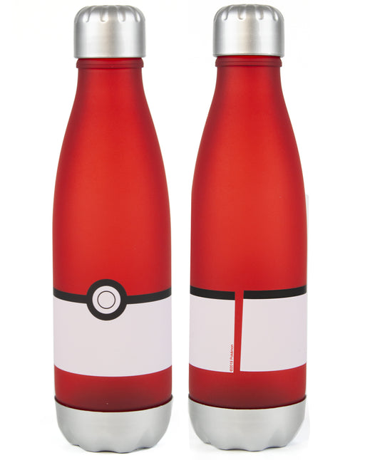 Pokemon Pokeball Soft Touch 700ml Sports Drink Bottle - Red