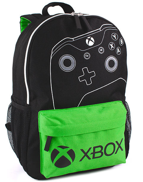 XBOX Backpack Kids Adults Boys Controller & Logo School Rucksack 16""