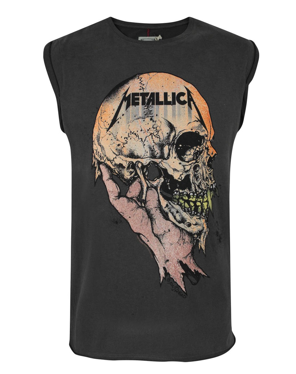 Amplified Metallica Sad But True Men's Vest