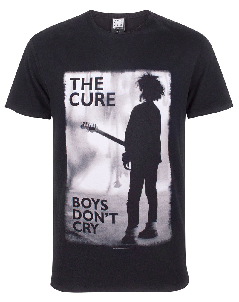 Amplified The Cure Boys Don't Cry Men's T-Shirt