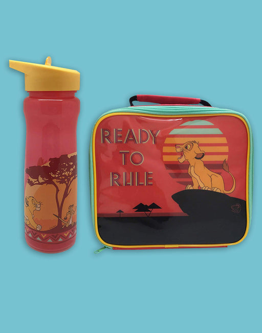 The Lion King Lunchbag & Bottle Set