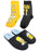 The Simpsons Homer Mens Slippers and Socks Gift Set