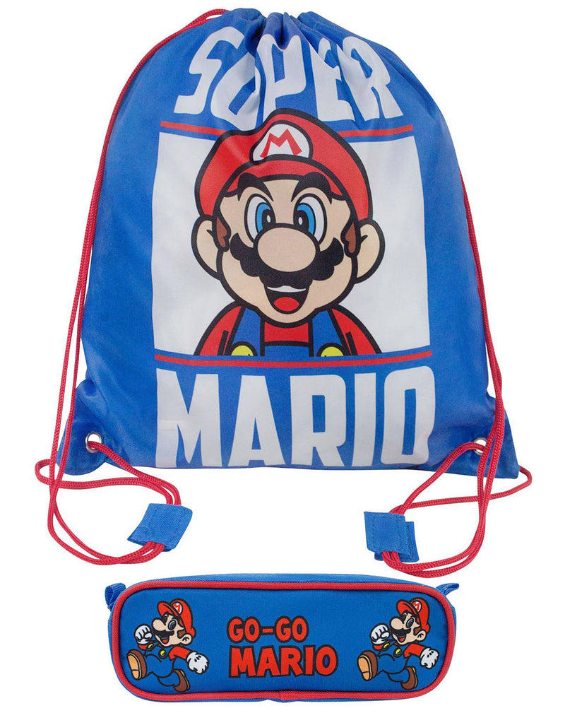 Super Mario back To School Set