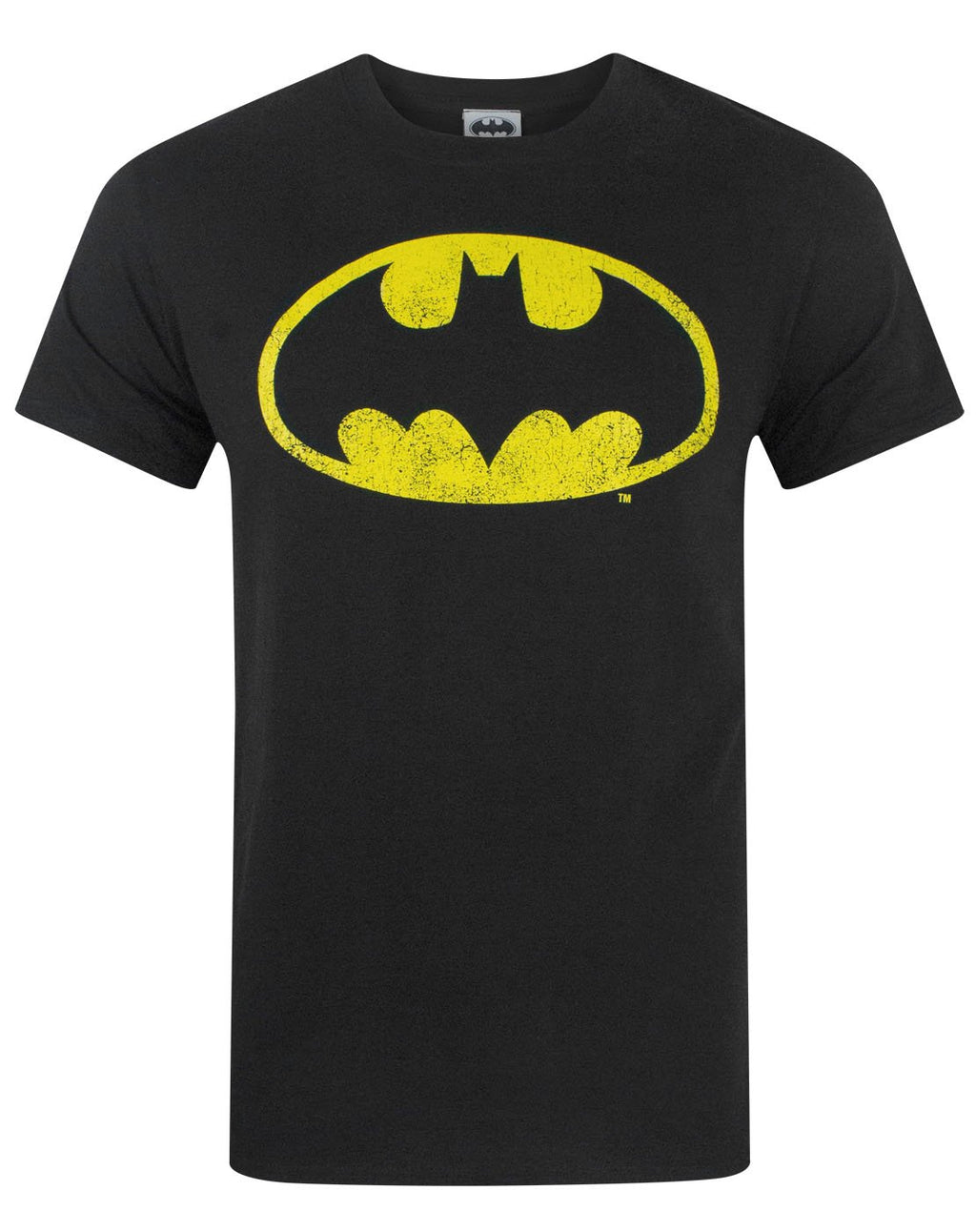 Batman Distressed Logo Men's T-Shirt