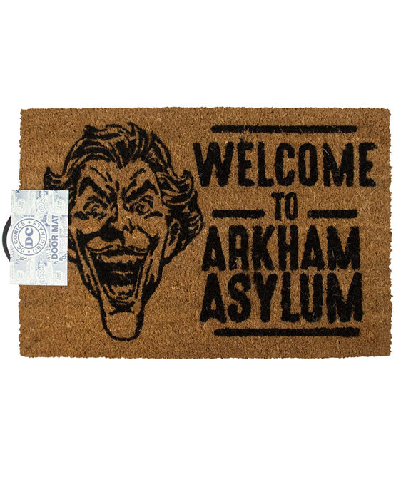 Batman The Joker Welcome To Arkham Door Mat
