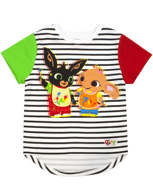 Bing Bunny Kids T-Shirt  - Sula Girls & Boys Raglan Top