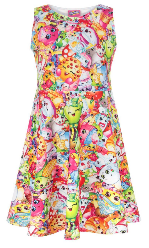 Shopkins Girl's Skater Dress