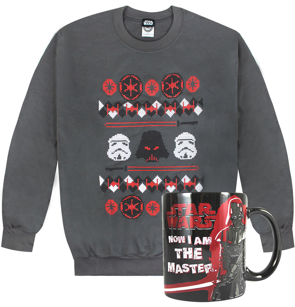 Star Wars Christmas Sweater and Mug Bundle Set