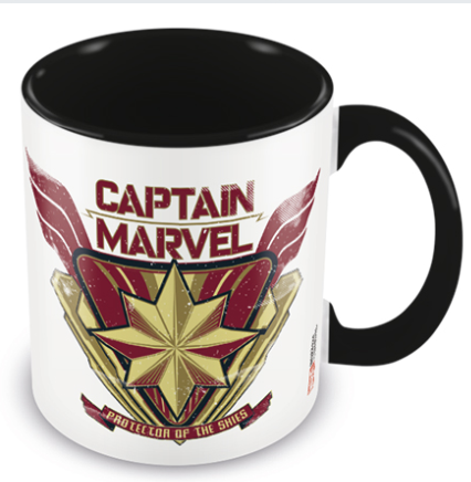 Captain Marvel Protector Of The Skies Mug