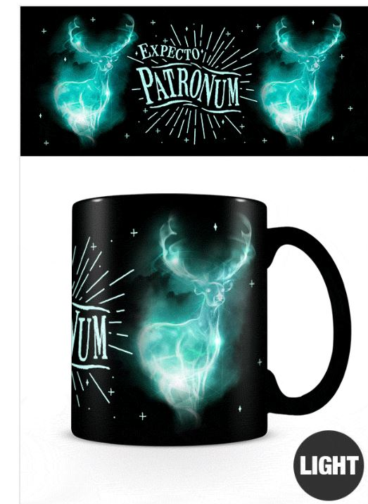 Harry Potter Patronas Glow in the Dark 11oz Mug