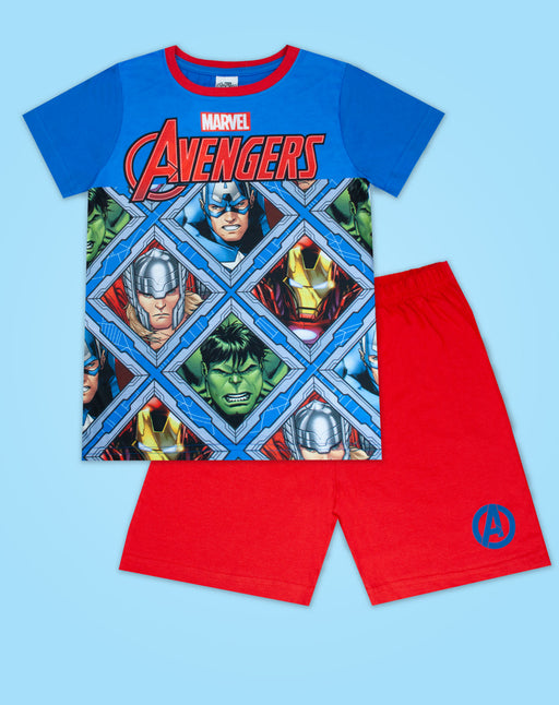 Marvel Avengers Boy's Short Pyjamas