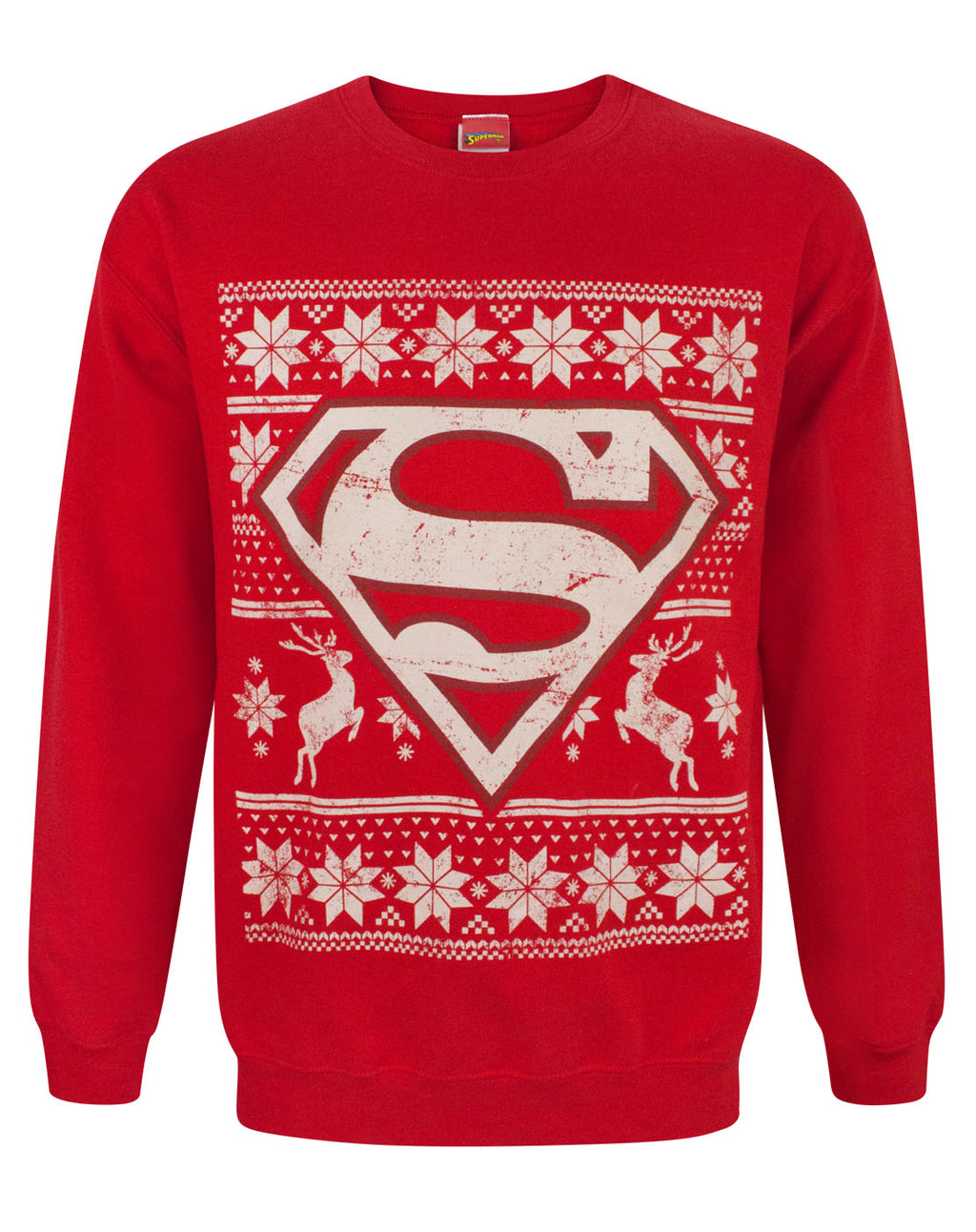 DC Comics Superman Christmas Sweatshirt