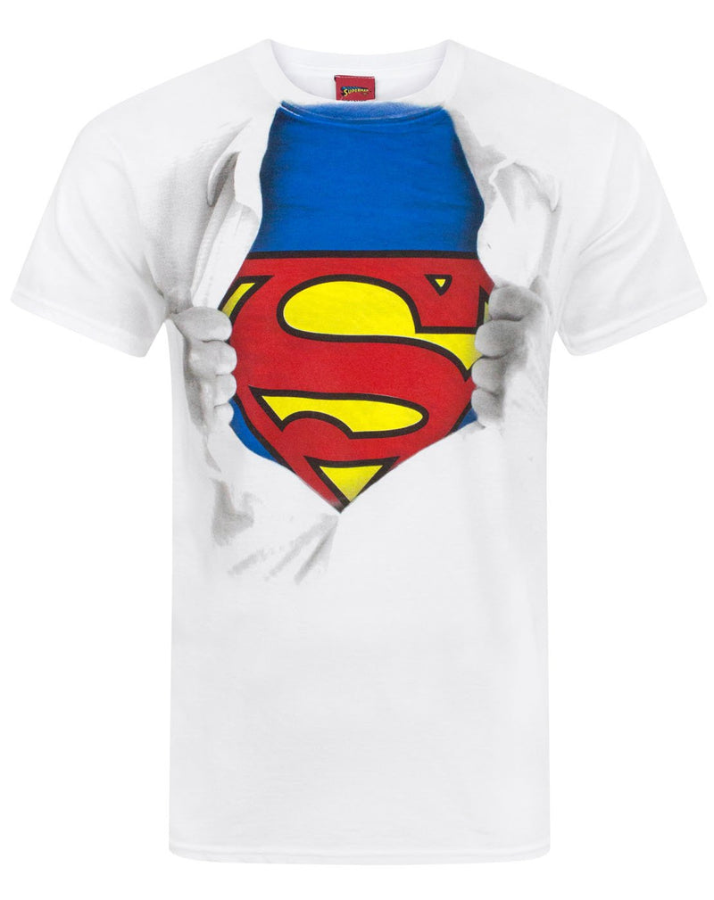 Superman Ripped Chest Men's T-Shirt