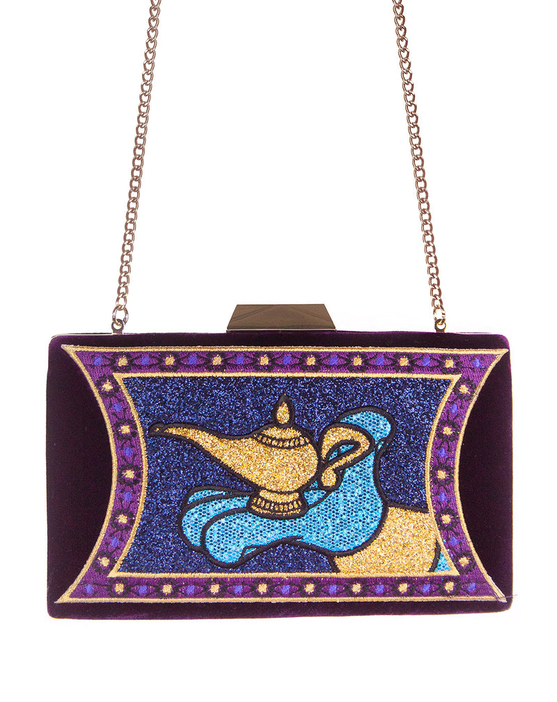 Danielle Nicole Disney Aladdin Magic Lamp Clutch Bag