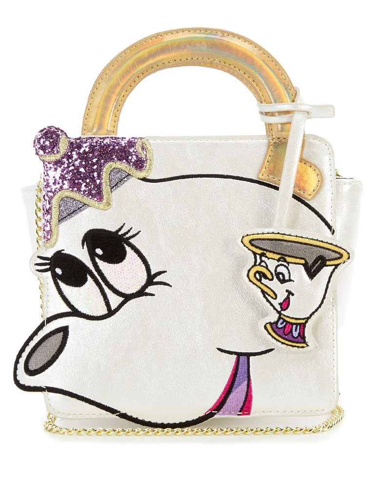 Danielle Nicole Disney Mrs Potts And Chip Crossbody Bag