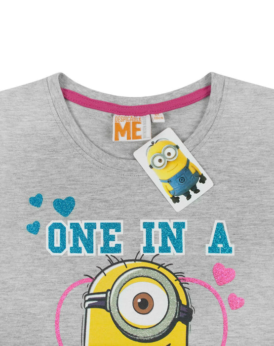 Despicable Me One In A Minion Girl's T-Shirt