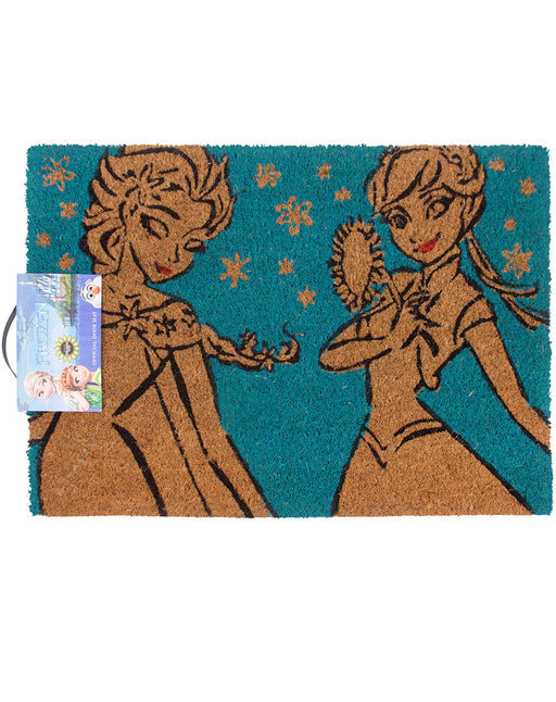 Disney Frozen Anna and Elsa Door Mat