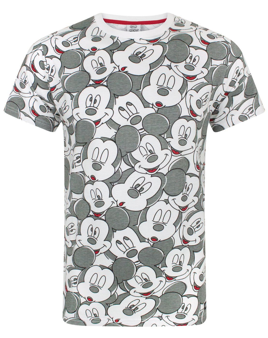 be08f4822 Disney Mickey Mouse Face All Over Print Men's T-Shirt — Vanilla Underground