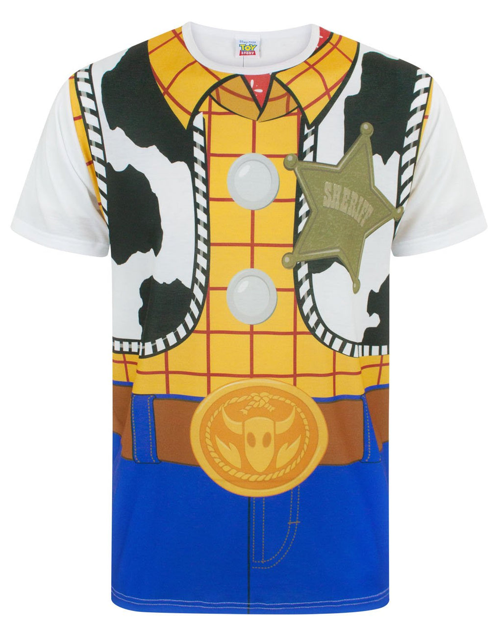 Disney Toy Story Woody Costume Men's T-Shirt