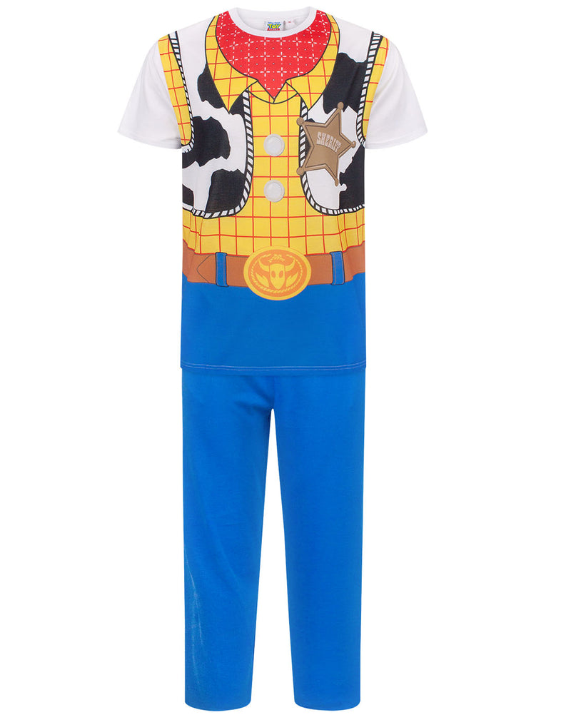 Disney Toy Story Woody Costume Men's Pyjamas