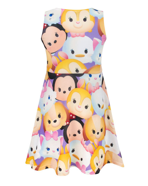 Disney Tsum Tsum Characters Girl's Skater Dress