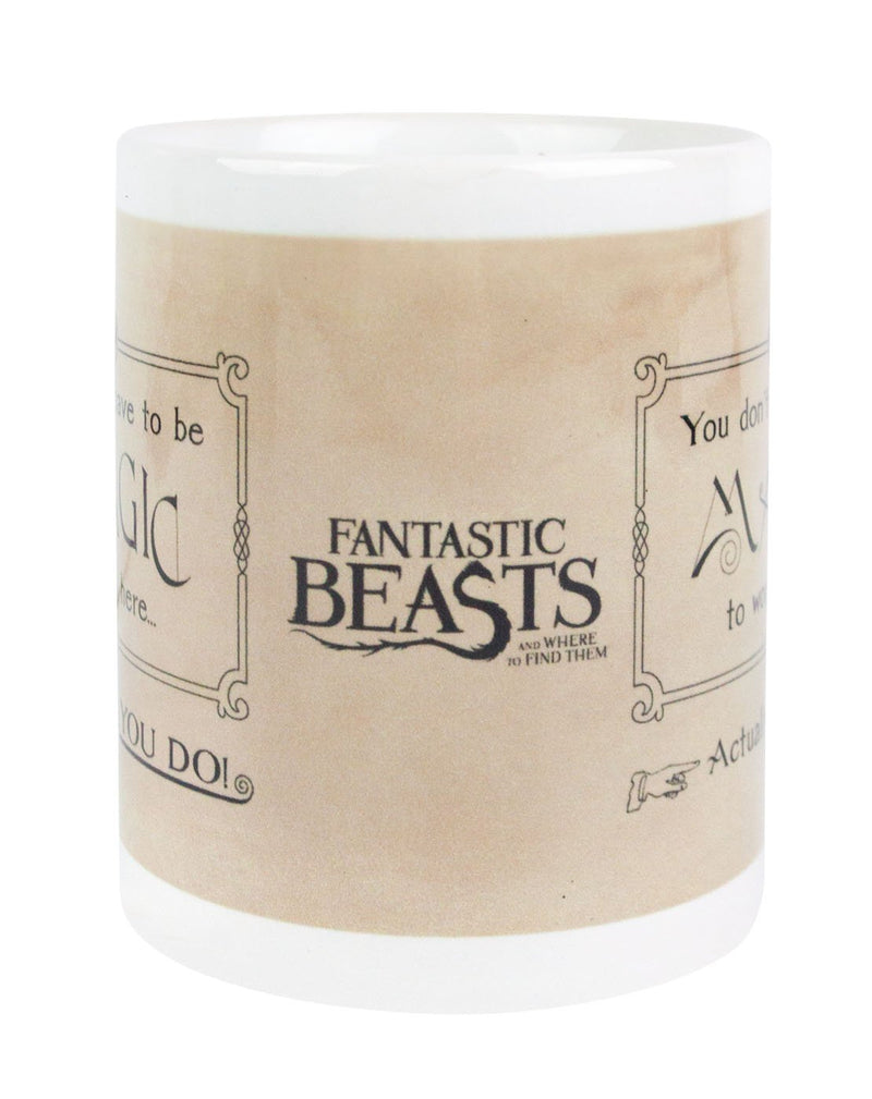 Fantastic Beasts And Where To Find Them Magic Mug