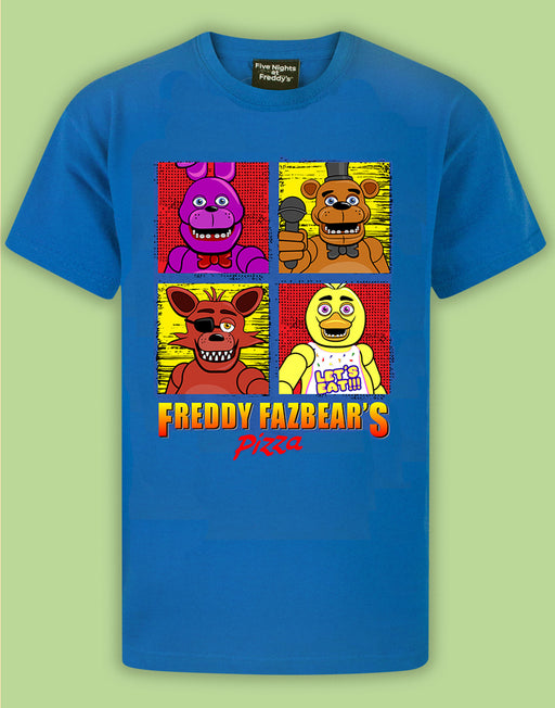 Five Nights At Freddy's Panels Boy's T-Shirt