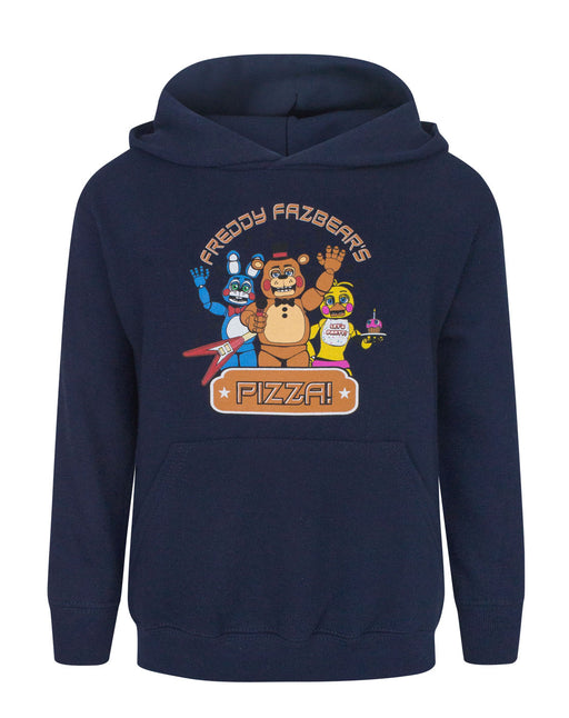 Five Nights At Freddy's Pizza Navy Boy's Hoodie