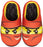 Lego Ninjago Kai Red Ninja Face Slipper