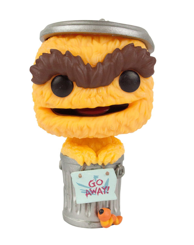 Funko Pop! Sesame Street Orange Oscar The Grouch Vinyl Figure