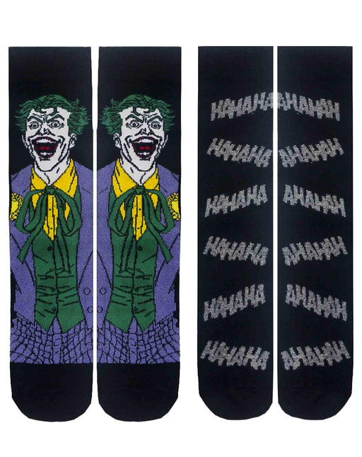 Batman The Joker Men's Socks DC Comics Pack of 2 Sizes 7-11 UK