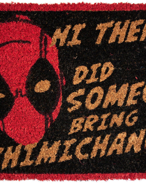 Marvel Deadpool Door Mat