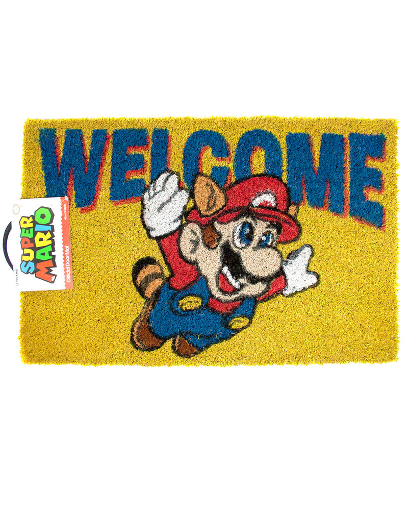 Super Mario Welcome Door Mat