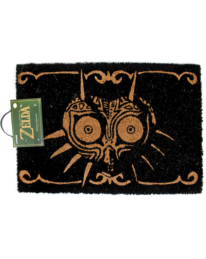 The Legend Of Zelda Majoras Mask Black Door Mat