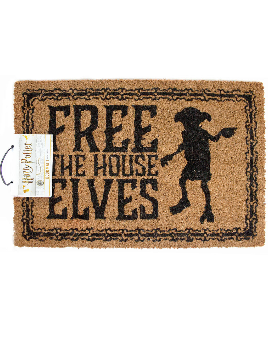 Harry Potter Free The House Elves Door Mat