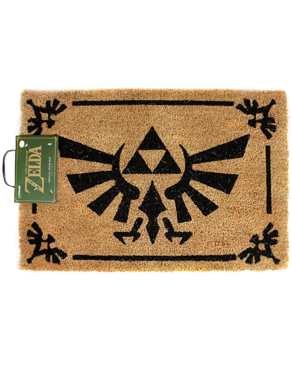 The Legend Of Zelda Triforce Logo Brown Door Mat 60x40cm