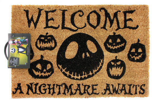 Buy Nightmare Before Christmas Door Mat