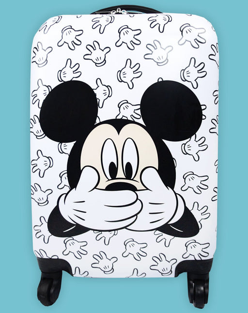 Disney Mickey Mouse Hard Cover Carry On Trolley Suitcase 53.5x33x22cm