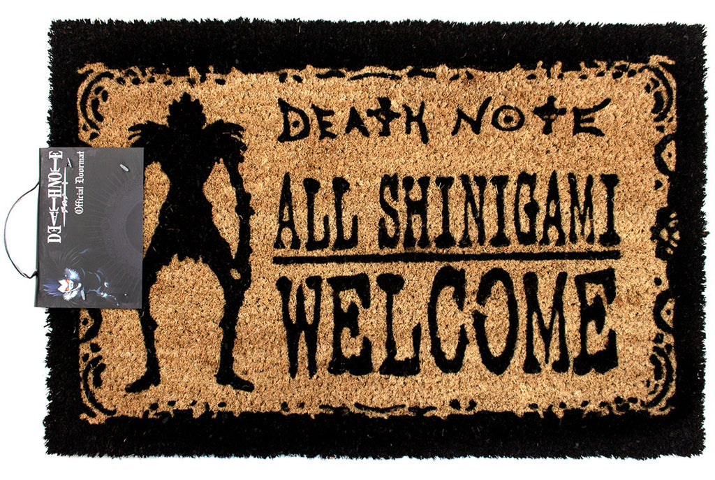 Death Note Shinigami Welcome Doormat