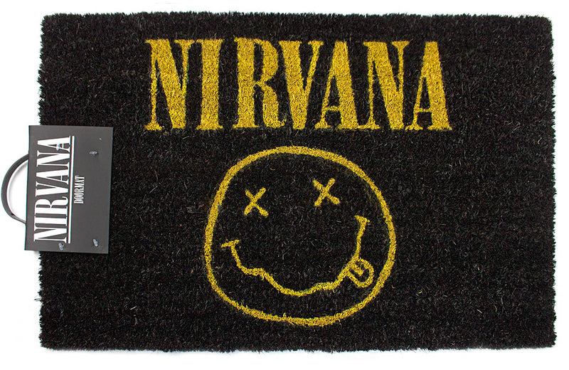 Nirvana Smiley Door mat