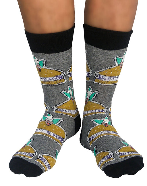 Shop The Simpsons Krusty The Clown 2 Pack Mens Socks