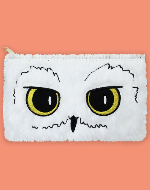 Harry Potter Hedwig Owl Plush School Stationary Pencil Case