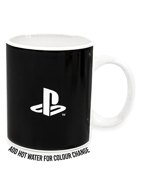 PlayStation Mug - Gaming Heat Changing 11oz Cup - Christmas Gift for Adults and Kids