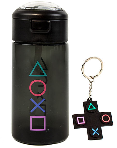 Shop PlayStation Sports Bottle & Keychain Gift Set