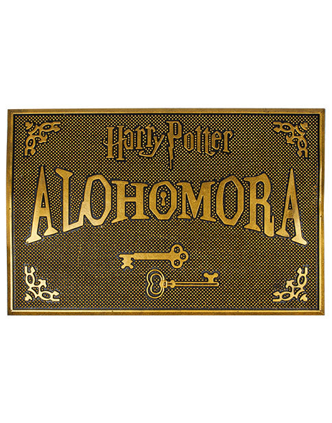 Harry Potter Doormat - Alohomora Rubber Welcome Home Mat HP Gift