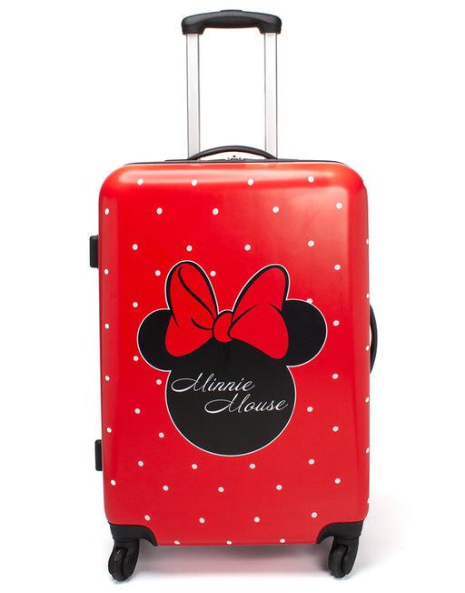 Disney Minnie Mouse Suitcase Cabin Small Medium OR Large Hard Cover Trolley