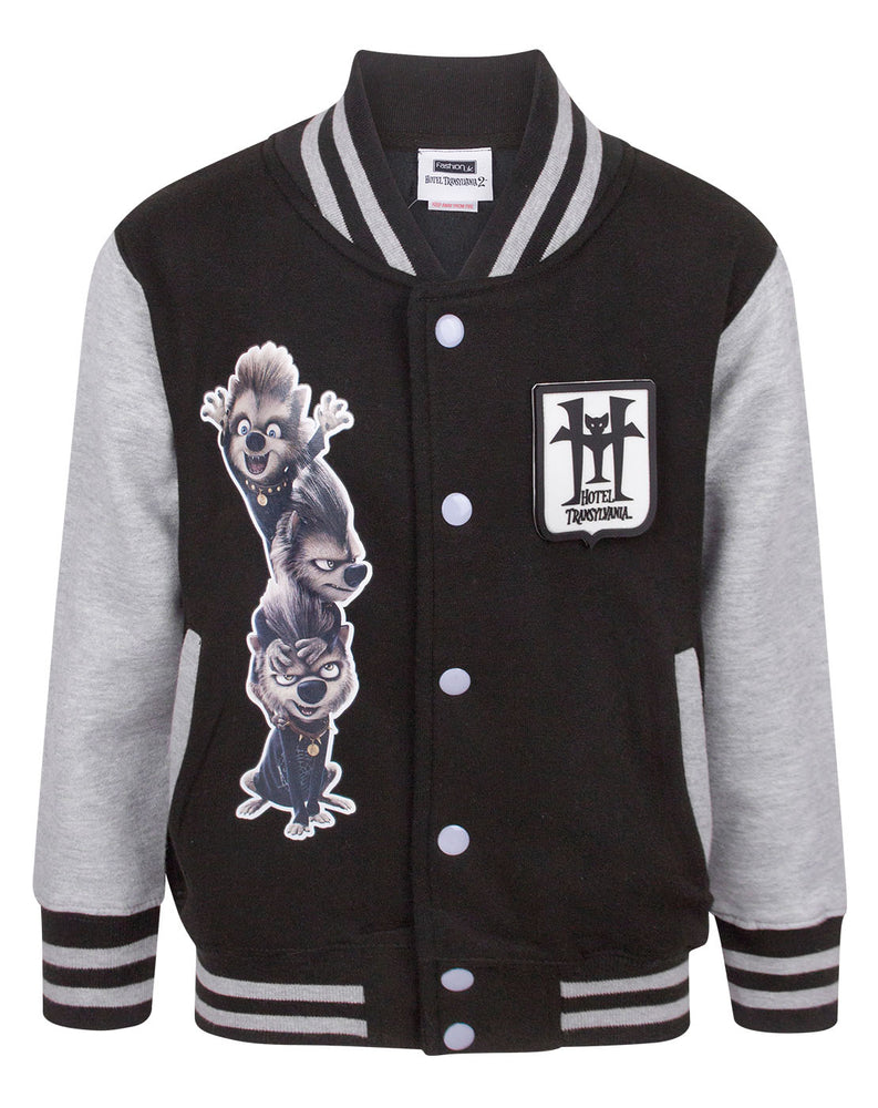 Hotel Transylvania 3 Movie Werewolf Kid's Varsity Jacket