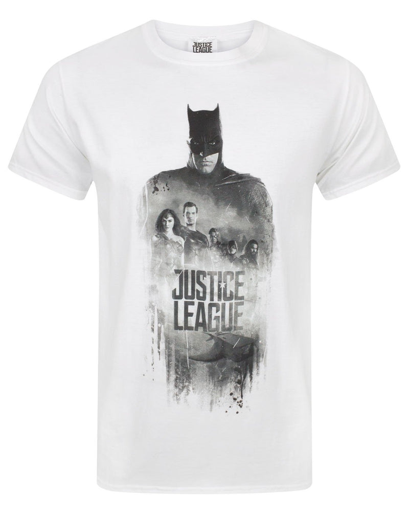 Justice League Character Line Up Men's T-Shirt